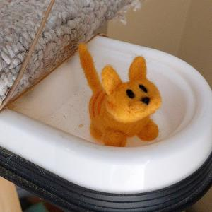 Mini Cat figure