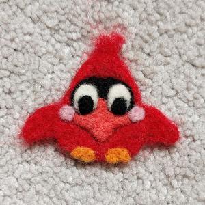 CuckooDoodle Cardinal pin