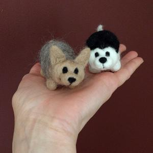 Mini Dog figures