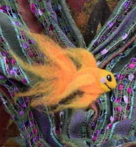 Fantail Goldfish pin