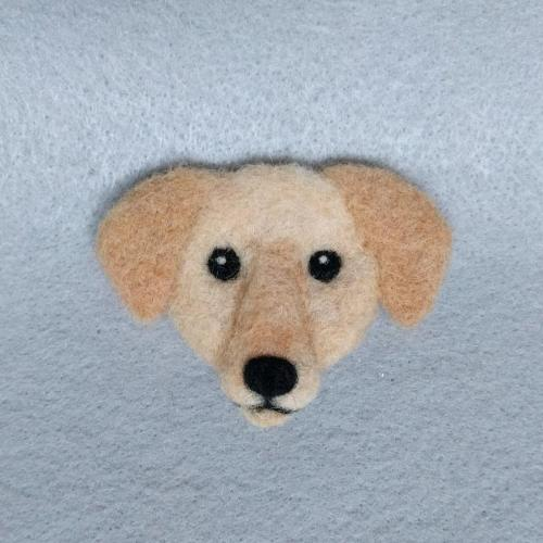 Yellow Lab pin