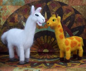 Llama & Giraffe