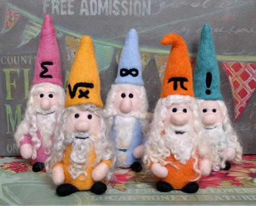 Special Waldorf-inspired Math Gnomes