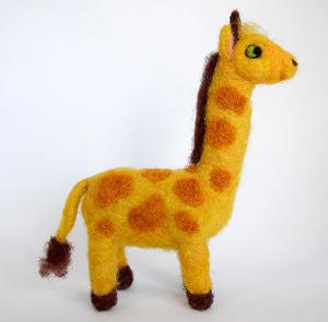 Cartoon Giraffe figure