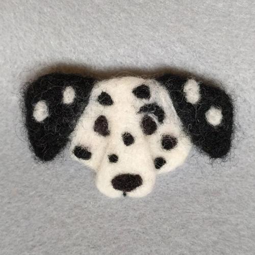 Dalmatian pin