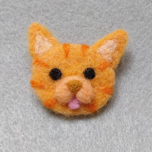 Orange Tabby Cat_Pin