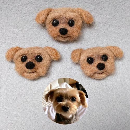 Lady Peanut the Morkie Dog pins