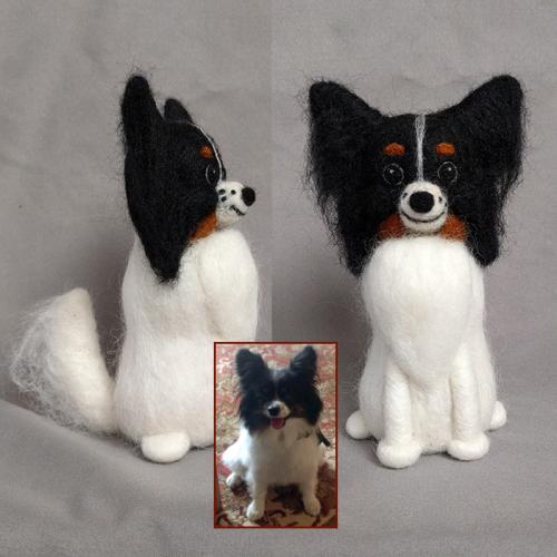 Sophie the Papillon figure