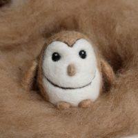 Barn Owl Alpaca wool