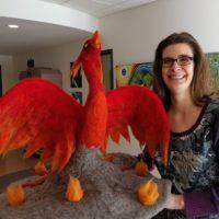 Cathy and Phoenix