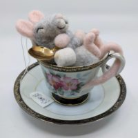 Sleepy Mice Teacup