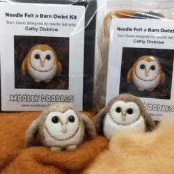 Barn Owl needle felt Kit