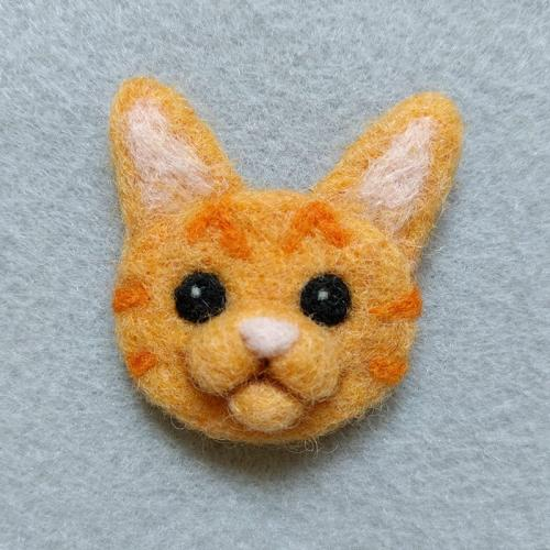 Orange Tabby pin